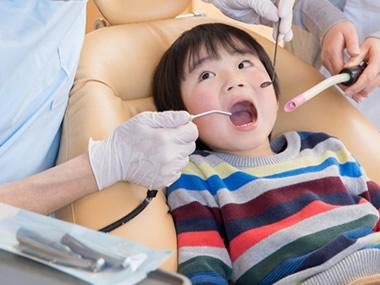 恐怖心を取り除く小児歯科診療