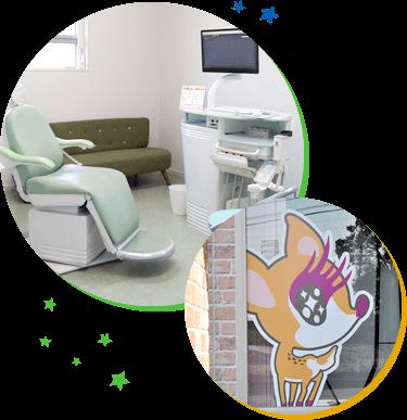 歯医者が苦手なお子様も安心して治療を受けられます
